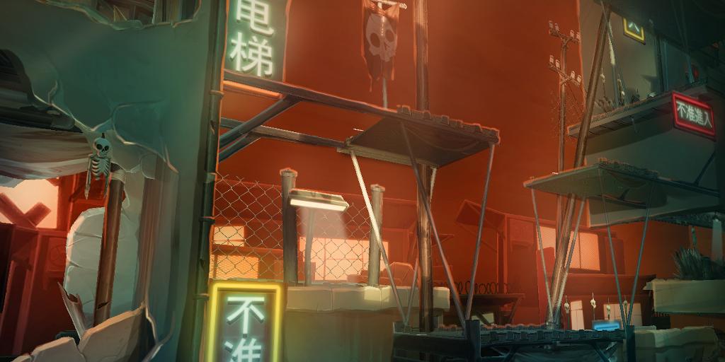Slum Rooftops - Asia