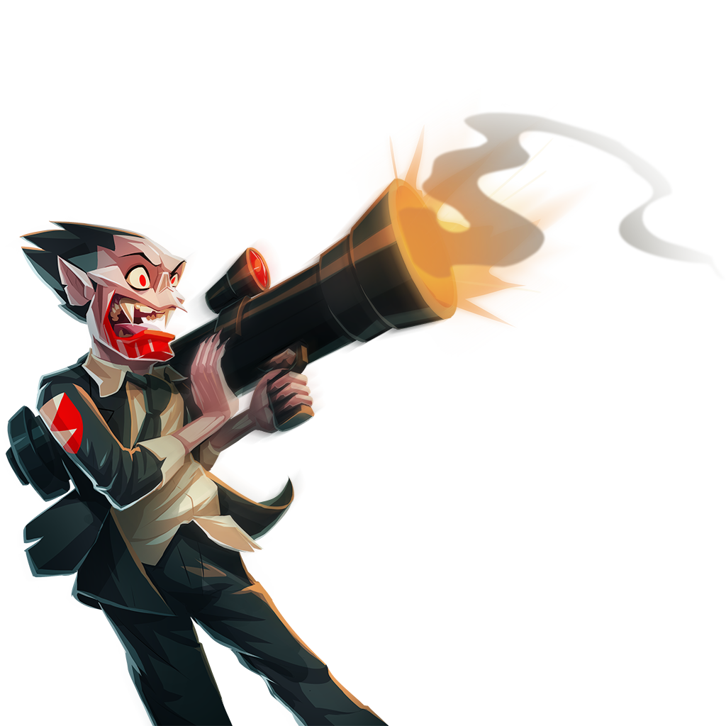 Mort with Rocket Launcher